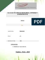 Presentacion del Desarrollo Sostenible Universitario Uladech