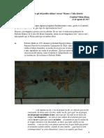 Videla-Hintze, C, 2017, La Pichanga Entre El Primer Gol Del Pueblo Chileno y El Museo a Cielo Abieto