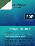 Trabajo Final Del Misterio Del Capital