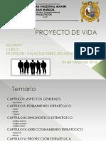 Modelo Plantilla Proyecto de Vida 2018