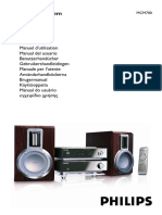 Manual Philips Stereo