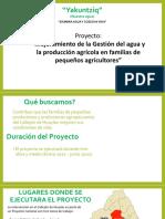 Presentación Del Proyecto CEDEP