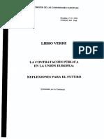 Libro Verde- Contrataciones en La Ue