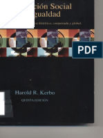 Harold, 1998. Estratificación Social y Desigualdad