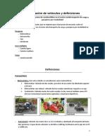 Clasificacion de Vehiculos y definiciones.docx