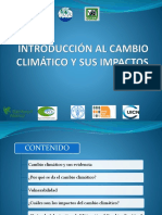 Introdución Al Cambio Climático 1