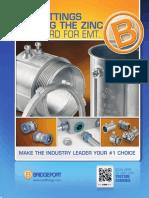 EMT Fittings Brochure May 2013
