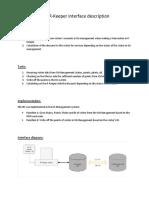 IQ-RKeeper Interface Description
