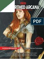 Unearthed Arcana - Ranger Novos Conceitos