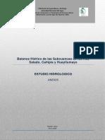 Hidrologia SCH (Anexos)