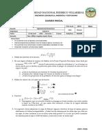 Examen Parcial Calculo II IE