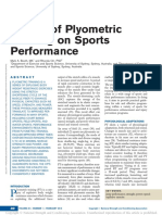 Effects of Plyometric Training on Sports.5