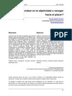 Ibáñez. Fondear en la objetividad o navegar hacia el placer..pdf
