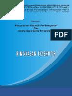 Dokumen Ringkasan Rencana Outlook Infrastruktur PUPR