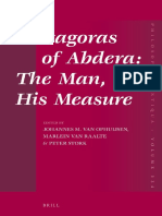 Van Johannes M. Ophuijsen Protagoras of Abdera the Man, His Measure 2013