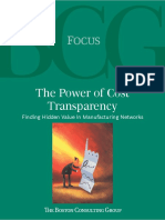 BCG - Power of Cost Transparency Jan 2009