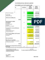 41 Balance Sheet
