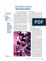 Additive Manufacturing by Direct Laser Deposition