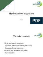 4-i Hydrocarbon Migrations