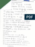 Ejercicios de Calculo 1