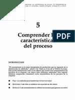 Harrington, H.. Comprender Las Características Del Proceso.