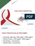 Fire Pump Essentials