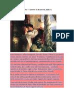 Datos Curiosos de Romeo y Julieta