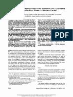 EBv Neg Epidemiology Leblond JCO.1998.16.6