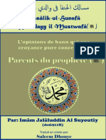 Maslikul Hunafâ - Parents Du Prophète SAW