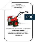 Proposal Cultivator