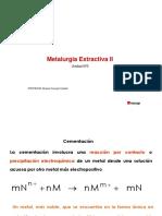 Unidad 3 Metalurgia Extractiva II Precipitación-Electrometalurgia (1)
