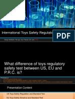 Presentation - International Toys Safety Regulatory Test