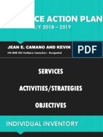 Guidance Action Plan Ppt