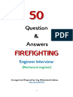 Firefighting Engineer Interview 50 Questions & Answers
