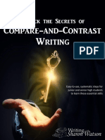 Compare and Contrast Writing