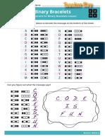 Key Assessment14 BinaryBracelets