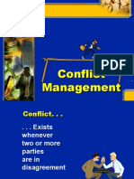 Conflict Management ICFAI