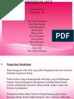 PPT Toksikologi
