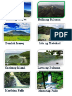 Water and Land Forms in Bicol Region