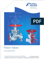 Forbes Marshall Piston Valves