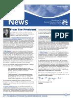 Newsletter Winter 2007 2008