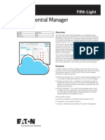 Flt Central Manager Spec Sheet