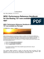 TRApple.nl - NEW_ Performance Reference Handbook for the Boeing 737 Now Available as iPad App! - 2014-05-15