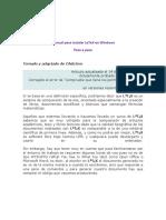 Manual Para La Instalación de LaTeX