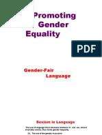 Gender Fair Language