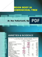 16.e. Foreign Body Intracheobronchial Tree