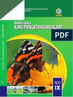 Download Buku Guru IPA SMPMTs Kelas IX Kurikulum 2013 Edisi Revisi 2018 (datadikdasmen.com) .pdf