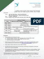 Slip Pendaftaran, Senarai Sekolah Berdaftar, Surat Pengesahan Penyertaan (Zon Tengah)