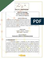 Sala Do Professor - A Beleza Dos Diagramas - Homem Vitruviano e DNA
