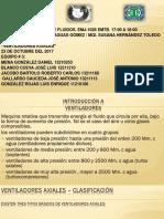 Presentacion de Ventiladores Axiales Tubulares.